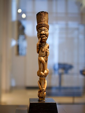 Culture of Angola - Yombe-sculpture, 19th century