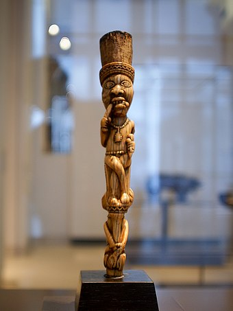 A Yombe sculpture, 19th century. African Art, Yombe sculpture, Louvre.jpg
