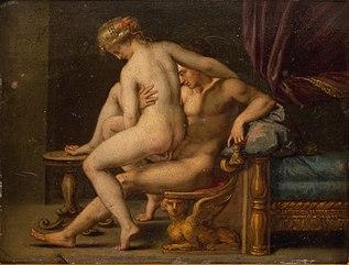 Nuditet med mand og kvinde