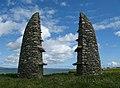 Aignish memorial - geograph.org.uk - 493899.jpg