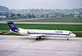 Air UK Fokker 100; G-UKFC@ZRH;15.04.1995 (4905522011).jpg