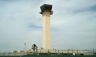 El Paso International Airport - Air Traffic Control Tower