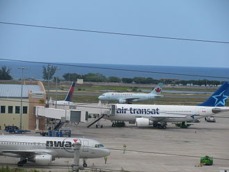 Sangster International Airport - Apron view