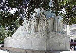 Canarian Americans - Memorial to the Alamo defenders