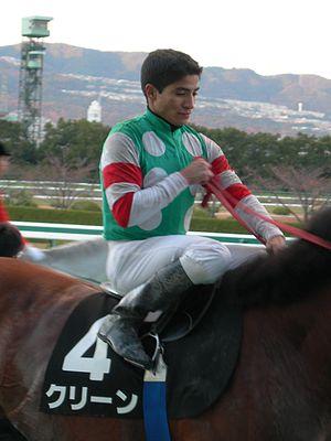 Alan Garcia (jockey) - Image: Alan Garcia jockey 3 DSCN5889 20081206