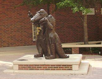 Albert and Alberta Gator - Statues at the Alumni Affairs Building