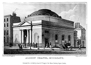 Albion Chapel Church in City of London