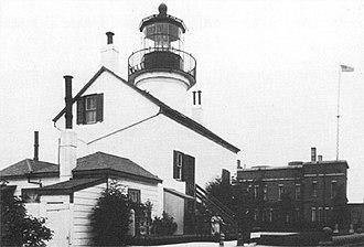 Alcatraz Island Lighthouse - Image: Alcatraz light original