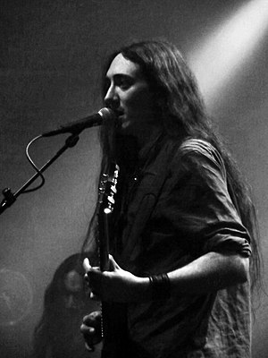 Alcest - Neige's (pictured in 2011) childhood memories are a recurring theme in Alcest's music.