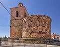 Aldealengua, Iglesia de Santiago, ábside y torre.jpg