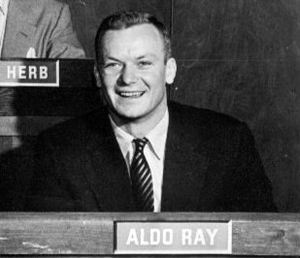 Aldo Ray - Ray on the DuMont version of Twenty Questions, 1954