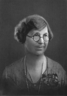 Alice Stebbins Wells American policewoman