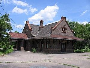 Aliquippa, Pennsylvania - P&LE Station