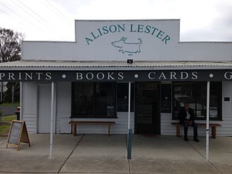 Alison Lester - Alison Lester gallery and bookshop, Fish Creek
