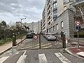 Allée du Parc (Lyon), la barrière.jpg