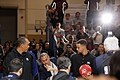 All-Star Game Weekend The Curry's - Dell Curry and Stephen Curry at NBA All-Star Weekend 2016 (24410676343).jpg