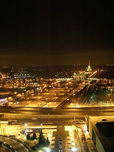 All Russian Exhibition Centre Night.JPG