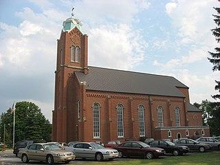New Riegel, Ohio Village in Ohio, United States
