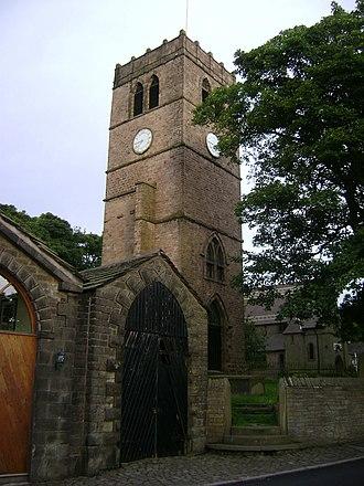 All Saints Church, Marple - Image: All Saints Church, Marple 02