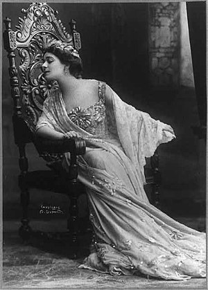 Aimé Dupont - Image: Alla Nazimova, ca. 1908
