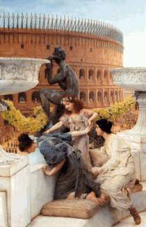 Lawrence Alma-Tadema - The Colosseum