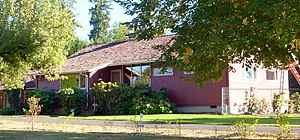 National Register of Historic Places listings in Washington County, Oregon - Image: Aloha Farmhouse 2 Beaverton Oregon