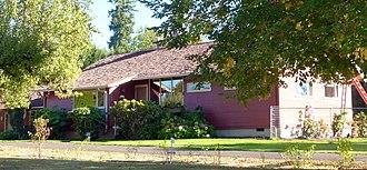 National Register of Historic Places listings in Washington County, Oregon - Image: Aloha Farmhouse 2 Beaverton Oregon