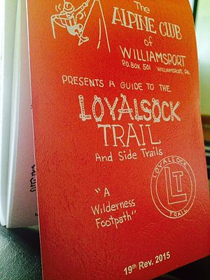 Loyalsock Trail - The Loyalsock Trail guide contains detailed instructions for navigating the area.