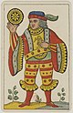 Aluette card deck - Grimaud - 1858-1890 - Jack of Coins.jpg