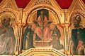 Alvise, bartolomeo vivarini e aiuti, polittico da s. caterina a galatina, post 1463, 04 trinità tra i ss. domenico e francesco (alvise).jpg