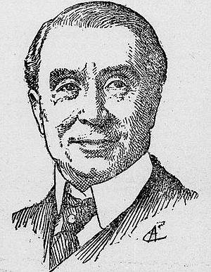 Jules Truffier - Portrait of Jules Truffier in 1914