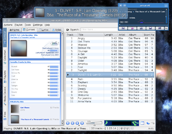 Amarok Linux MP3 Player Screenshot