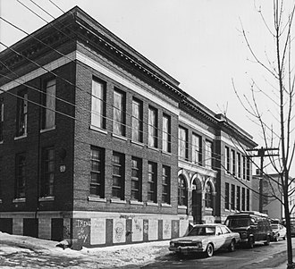 America Street School - 1987 photo