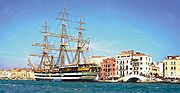 The  Amerigo Vespucci in Venice