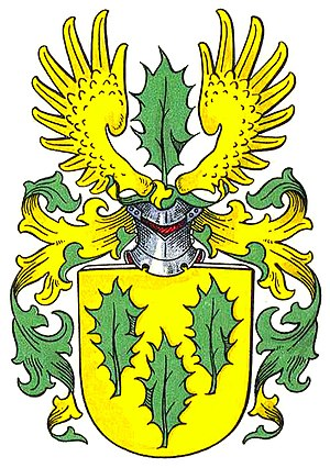 Amsinck family - Coat of arms of the Amsinck family