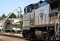 Amtrak 505 leading the Coast Starlight, July 2009.jpg