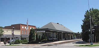 Southern Pines, North Carolina - Amtrak Station in Southern Pines