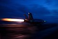An F A-18C Hornet launches. (8630725979).jpg