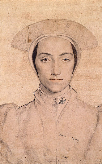 Amalia of Cleves - Portrait by Hans Holbein the younger, 1539.