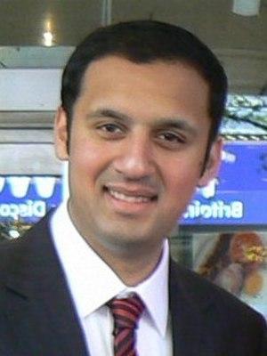 Asian-Scots - Anas Sarwar