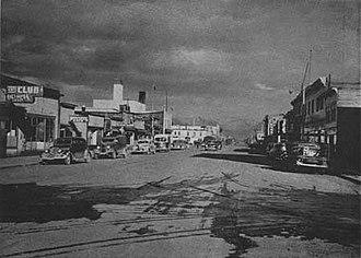History of Anchorage, Alaska - Image: Anchorage 1944
