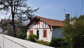 Anglet - Old house in Anglet - as witness to the rural past and listed in the inventory of heritage for the city of Anglet (Annex PLU)