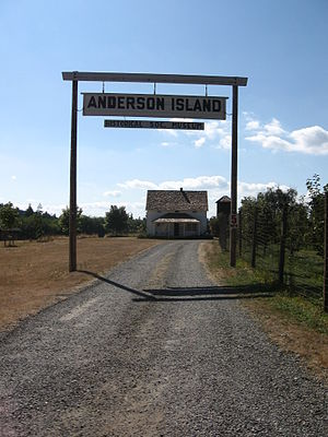 Anderson Island (Washington) - A farm on Anderson Island