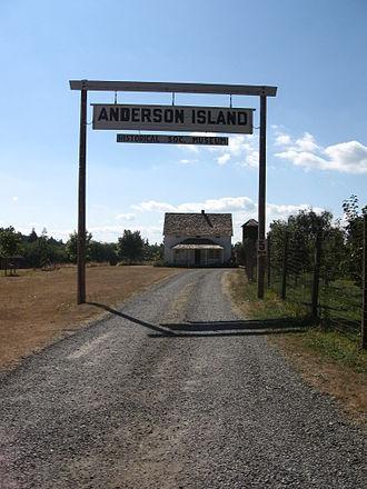 Anderson Island (Washington) - A farm on Anderson Island