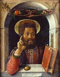 Saint Marc (huile/toile, Museum Städel, Francfort sur le Main)