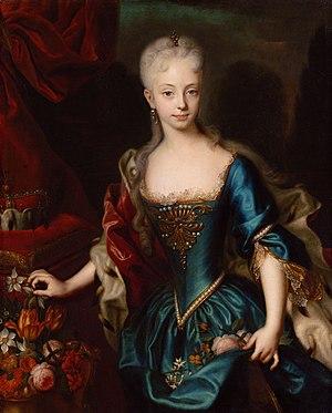 1729 in art - Image: Andreas Moeller Erzherzogin Maria Theresia Kunsthistorisches Museum