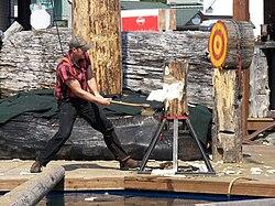meaning of lumberjack