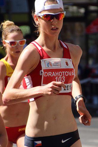 Anežka Drahotová - Drahotová at the 2015 European Cup Race Walking