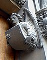 Angel on doorway of Our Lady and the English Martyrs Church in Cambridge.jpg