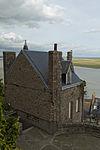 Angle sud-ouest de la villa Bellevue (Le Mont-Saint-Michel, Manche, France).jpg